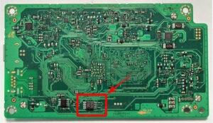 Микросхема 25Q64 для понижения версии прошивки в HP Laser MFP 135a, 135w, 135r, 135wr с V3.82.01.14 (15) до V3.82.01.02