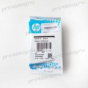 Печатающая головка M0H51A (black) для HP GT5810, GT5820