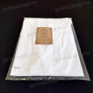 Футболка мужская (унисекс), белая Comfort (эволюшн), 50%синтетика50% хлопок р.50 (XL) для сублимационной печати.