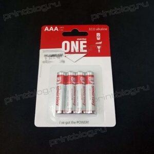 Батарейка Smartbuy LR3 AAA , Eco , щелочная (SOBA-3A04B-Eco) блистер 4 шт.