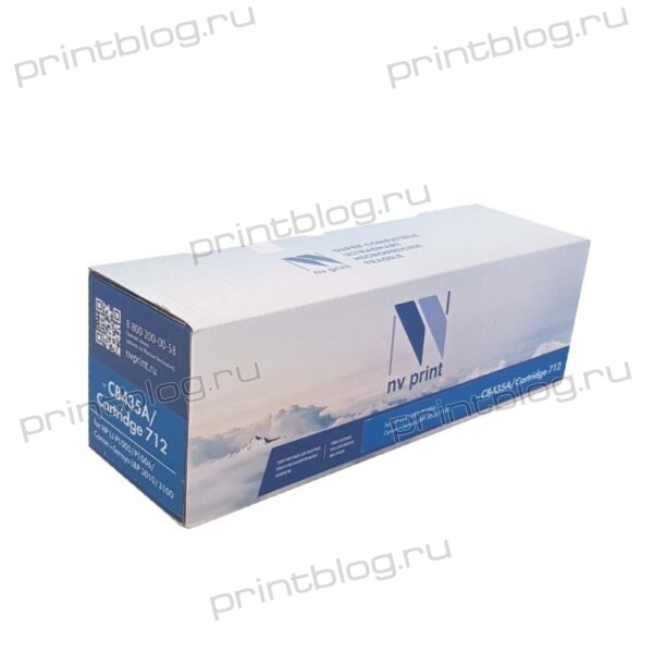 Картридж HP LJ CB435A, Canon 712 NV Print 2000стр. (P1005P1006i-Sensys LBP30103010B3100)
