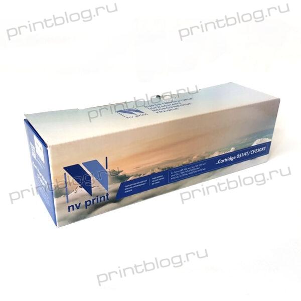 Картридж HP LJ CF230X Canon 051H NV Print 4100cтр. (LBP-160 ser)