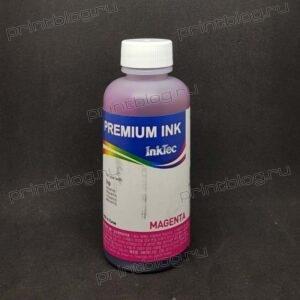 Чернила HP InkTec (H3070-100MM) Magenta Dye, розовый водорастворимый, 100 мл, C8772,