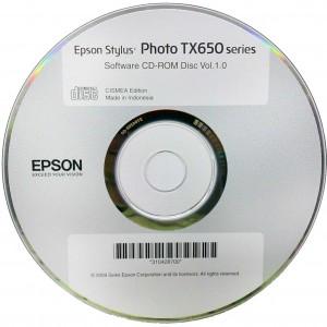 Epson stylus photo tx650 скачать установочный диск